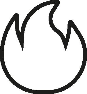 Icono fuego