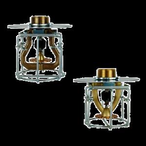 Jaula con placa para Sprinklers ESFR colgante K22 y K25
