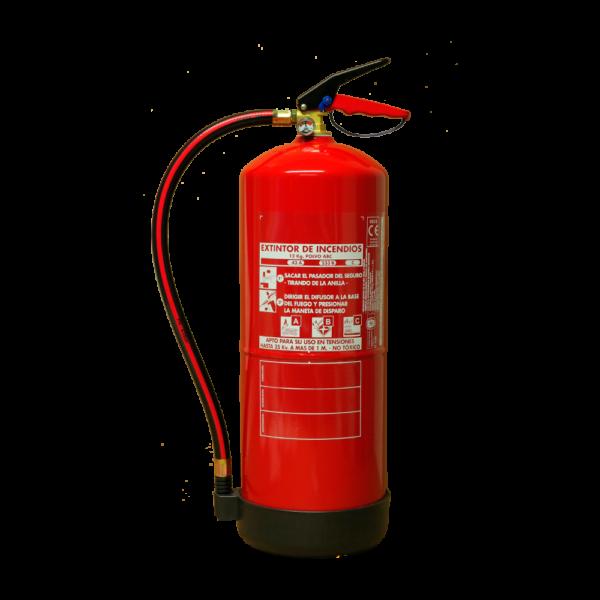 Extintor polvo ABC 12kg
