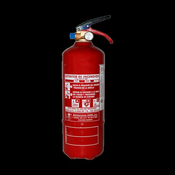 Extintor polvo ABC 2kg