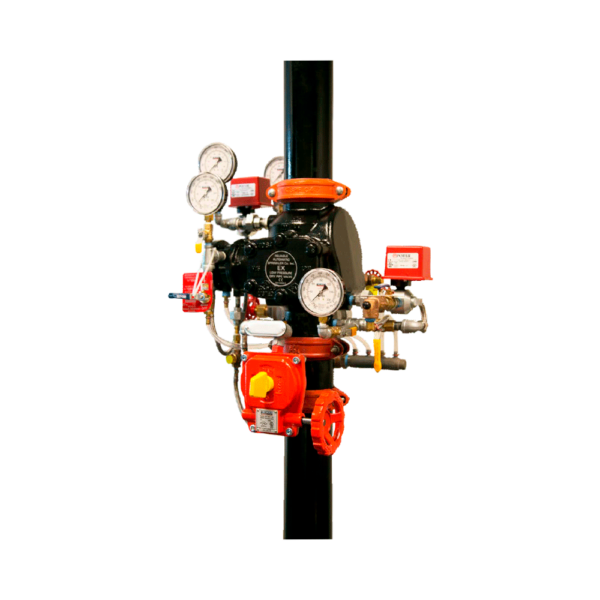 Puesto de control seco modelo EX (baja presión)