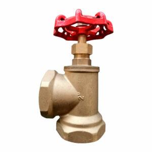 Válvula angular de asiento para puestos de control HH