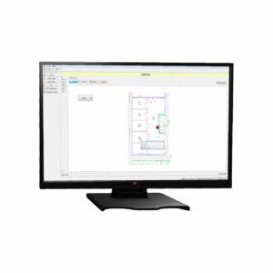 Software gráfico para controlar centrales Taktis y Syncro