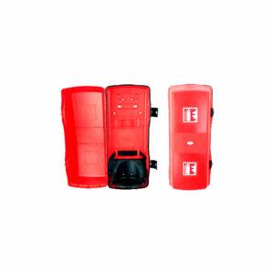 armario de plástico para extintores