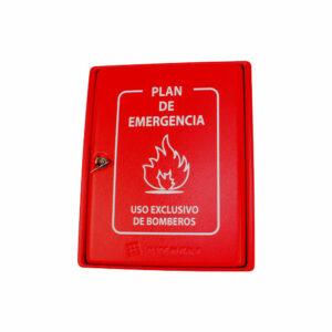 Caja de plástico para planes de emergencia