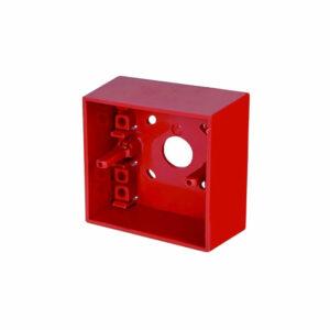 Caja superficie para pulsador analógico de interiores