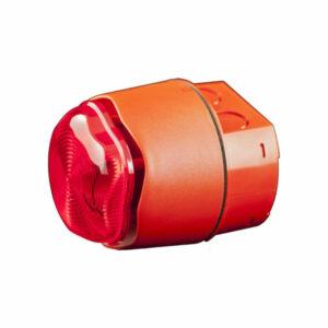 Sirena con flash convencional para exteriores IP66